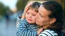 Wat kan ik doen als mijn baby gestresst is door de scheiding?